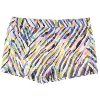 Trina Turk Womens Printed Flat Front Casual Shorts - 10