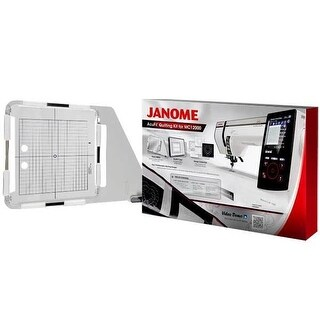 Janome Horizon Memory Craft 12000 AcuFil Quilting Kit