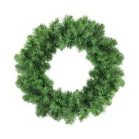 "16"" Colorado Pine Artificial Christmas Wreath - Unlit - green"