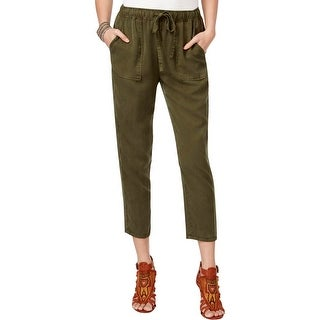 Lucky Brand Womens Cargo Pants Cropped Drawstring