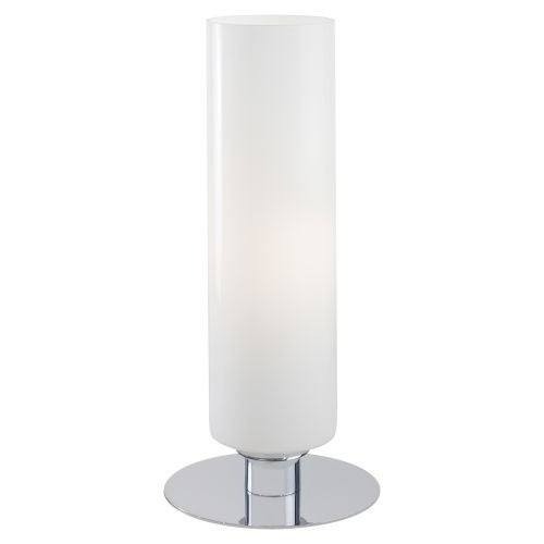 Kovacs P661-077 1 Light Accent Table Lamp with White Cased Shade from the Decorative Portables Collection - n/a