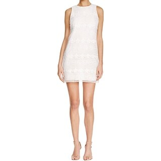 Aqua Womens Tunic Dress Shealth Sleeveless