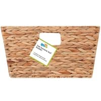 Honey Can Do STO-02885 Tall Banana Leaf Basket, Natural/Brown