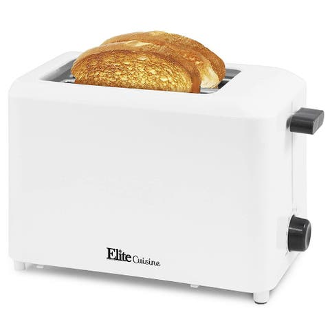 Elite Cuisine 2 Slice Cool Touch Toaster ECT-1027