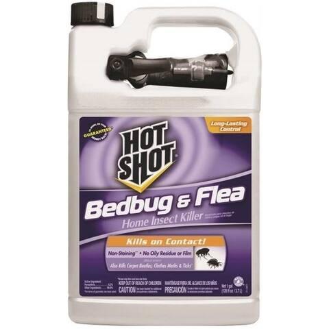 Hot Shot HG-96442 Bed Bug & Flea Home Insect Killer, Gallon