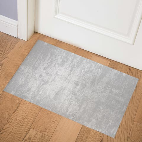 CASERTA GREY Indoor Floor Mat by Kavka Designs