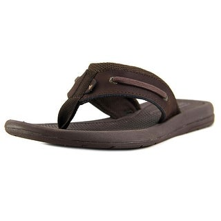 Sperry Top Sider Intrepid Thong Open Toe Leather Thong Sandal
