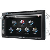 Power Acoustik PD 651B Double-DIN In-Dash LCD Touchscreen DVD Receiver