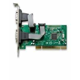 SYBA Controller Card SYB-SY-PCI15004 PCI Serial 2xDB-9 (RS-232) Serial Ports Retail