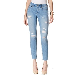 Two By Vince Camuto NEW Blue Women's 32X27 Slim Ankle Cropped Jeans