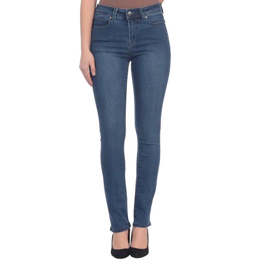 Lola Jeans Kate-MB, High Rise Straight Leg Jeans With 4-Way Stretch Technology - Thumbnail 0