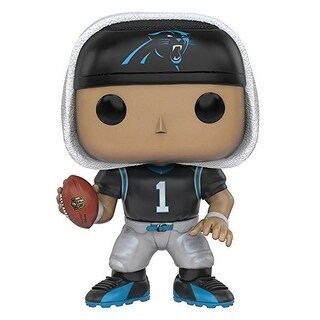 Funko POP NFL: Wave 3 - Cam Newton Action Figure - Multi-Colored