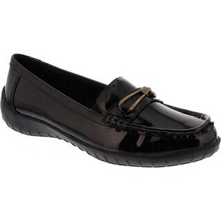 Walking Cradles Women's Clara Loafer Soft Black Patent