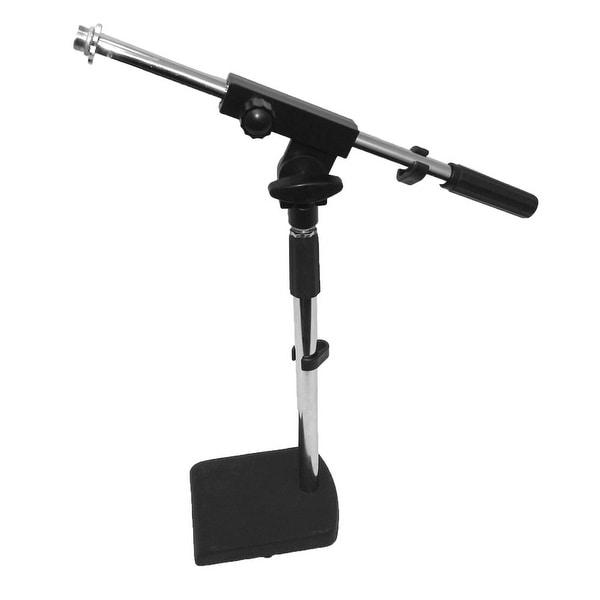 Seismic Audio Desk Microphone Mic Boom Stands - Drum, Amp, Tabletop