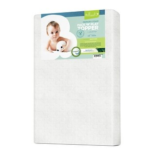 Milliard Memory Foam Pack and Play Topper - Pack and Play Size