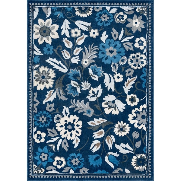 Alise Rugs Carrington Traditional Floral Area Rug. Opens flyout.