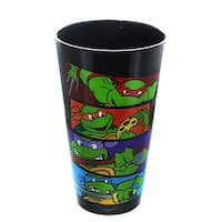 "Teenage Mutant Ninja Turtles ""Bars"" 16oz Pint Glass - Multi"