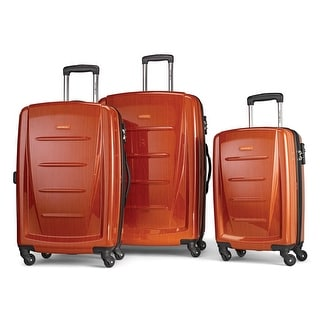 Samsonite Winfield II Fashion HS Spinner 3 Piece Set, Orange