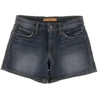 Joe's Womens Distressed Whisker Wash Casual Shorts - 31