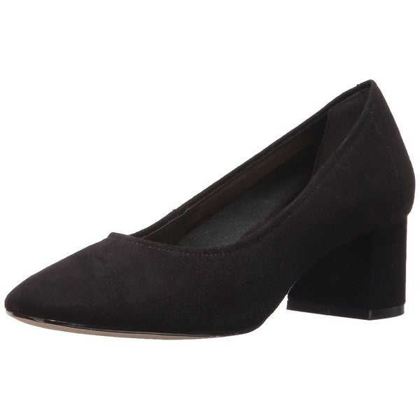 STEVEN by Steve Madden Womens Tour Suede Closed Toe Classic Pumps