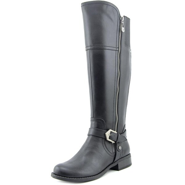 G By Guess Hailee Women Round Toe Synthetic Black Knee High Boot