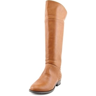 Chinese Laundry First Love Women Round Toe Synthetic Tan Knee High Boot