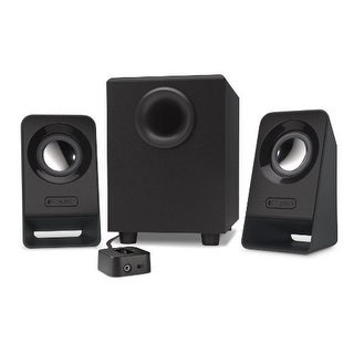 Logitech 980-000941 Multimedia Speakers Z213 2.1 Stereospeakers With Subwoofer