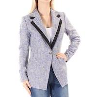 ANNE KLEIN Womens Purple Blazer Wear To Work Jacket  Size: 6