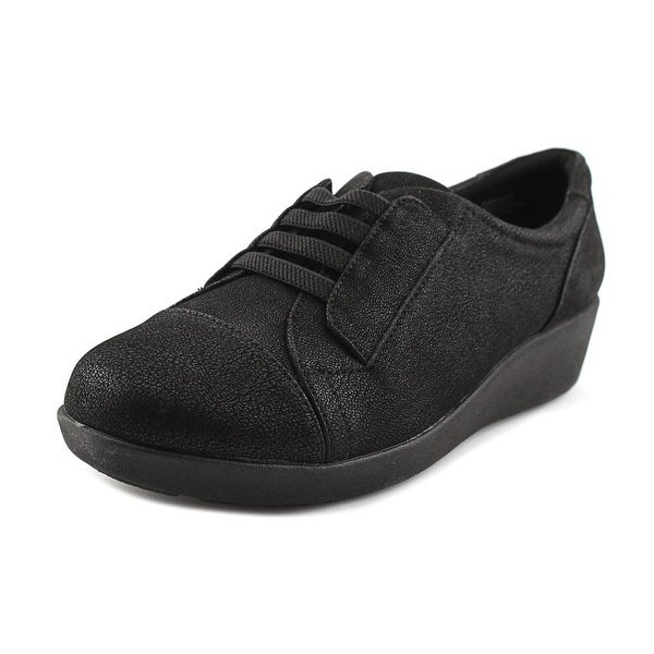Easy Spirit e360 Kandance Women Black Flats