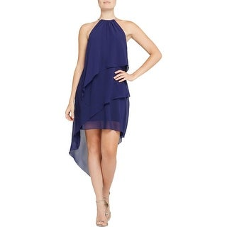 Laundry by Shelli Segal Womens Semi-Formal Dress Chiffon Embellished