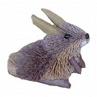 Brushart BRUSHOR74 Rabbit Grey Ornament