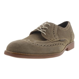 Mephisto Mens Feros Suede Brogue Oxfords - 10 medium (d)