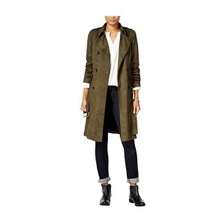 Link to Maison Jules Womens Faux-Suede Jacket Similar Items in Women's Outerwear