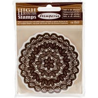 """Stamperia Cling Stamp 4""""X4""""-Lace"""