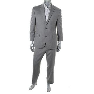 MICHAEL Michael Kors Mens Wool 2PC Two-Button Suit - 38s