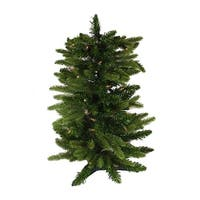 2.5' Pre-Lit Imperial Pine Artificial Christmas Tree - Clear Lights - green