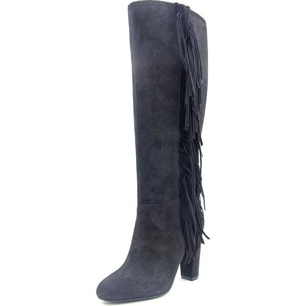 Lauren Ralph Lauren Vanida Women Round Toe Suede Knee High Boot