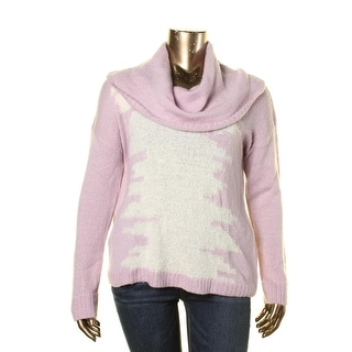 Kensie Womens Juniors Knit Ribbed Trim Pullover Sweater - XL
