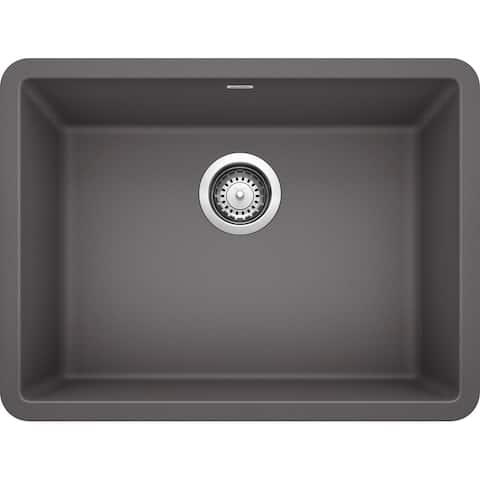 "Blanco 522414 Precis 23-1/2"" Undermount Single Basin SILGRANIT Kitchen Sink"