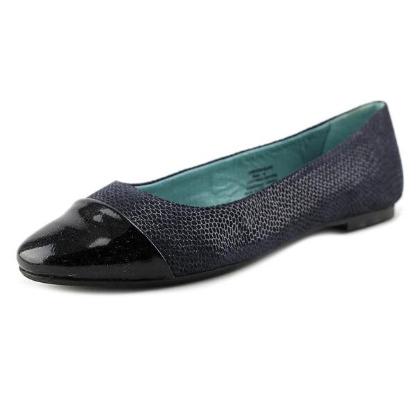 29 Porter Rd Colette Snake Print Ballet Slipper Women Gray Ballet Flats