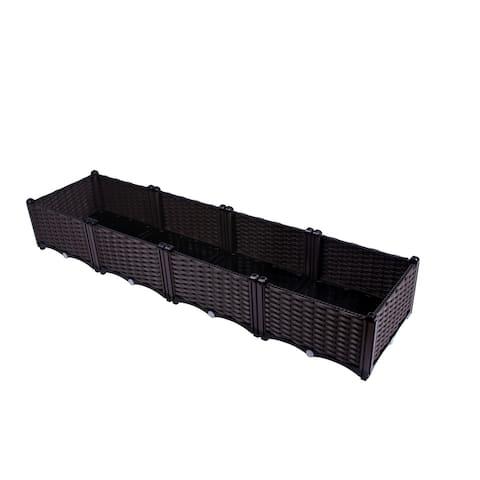 Self-Watering Quads Planter Box