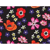 """Pack Of 240, Velvet Floral Recycled Floral Tissue Prints Paper 20"""" X 30"""" Sheets Made In Usa"""