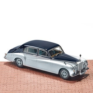 Oxford Diecast Classic British Motor Cars: Rolls Royce - 1:43 Scale Die Cast Metal Model Toy
