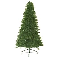 9' Canadian Pine Artificial Christmas Tree - Unlit - green