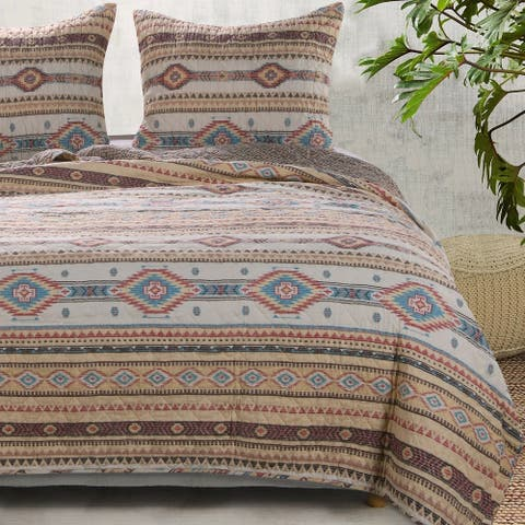 The Curated Nomad San Carlos Cotton Rich Quilt Set