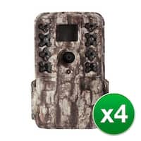 Moultrie MCG-13181 M40 Game Camera with 1080p Full HD Video & 16.0 MP Resolution (4-Pack)