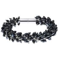 Deluxe Beaded Kumihimo Bracelet (Hematite) - Exclusive Beadaholique Jewelry Kit