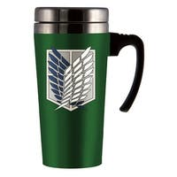 Attack On Titan Scout Logo Travel Mug - Multi