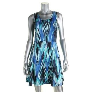 Karen Kane Womens Casual Dress Sleeveless Mini