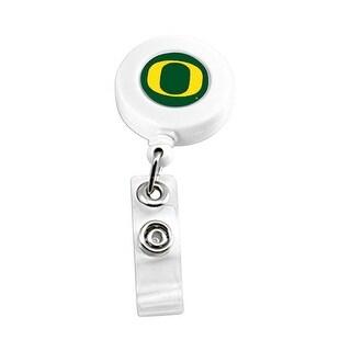 Oregon Ducks Retractable Badge Reel Id Ticket Clip